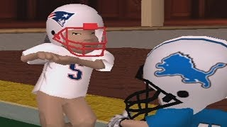 backyard football wii raging and funny moments