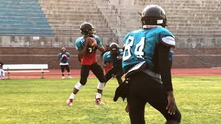 Deer Valley Wolverines football practice  8 7 2018