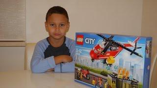 Обзор Лего Пожарный вертолет видео инструкция Lego 60108(Подробные видео обзор набора Лего Пожарный вертолет видео инструкция Lego 60108., 2016-10-16T18:26:20.000Z)