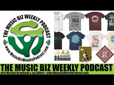 Ep. 218 Why Merchandise Needs to Be As Important As Your Music