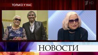 """В программе """"Пусть говорят"""" Лидия Федосеева-Шукшина дает откровенное интервью."""