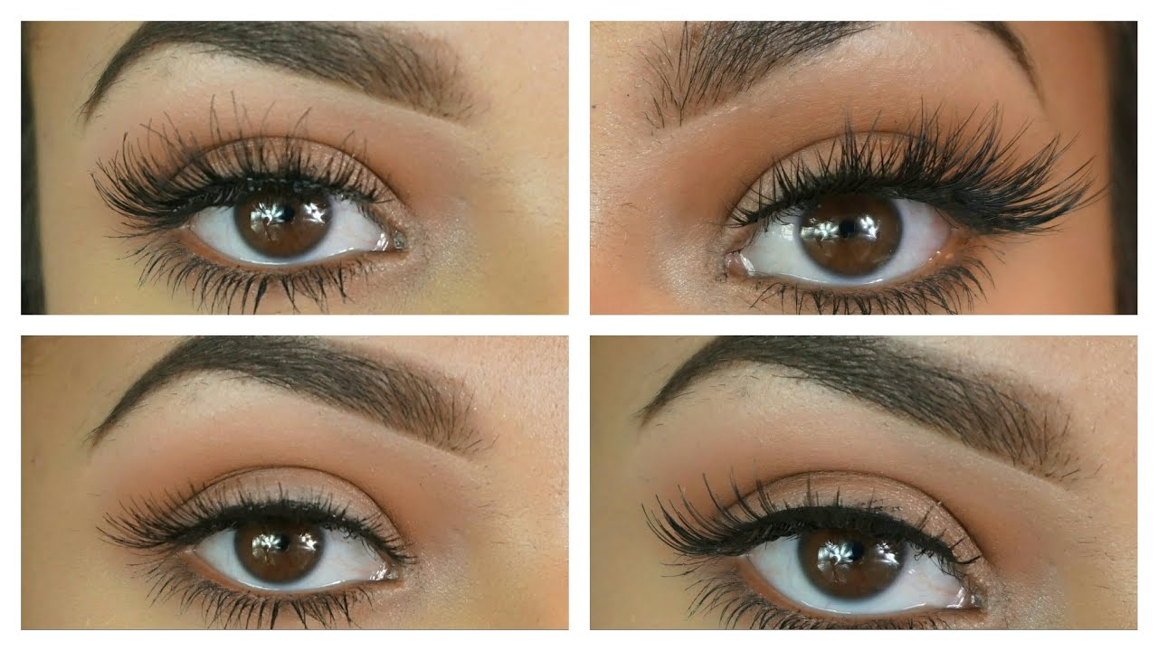 Types Of Eyelash Styles What Suits You Youtube