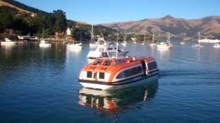 Welcome to Akaroa, NZ, by Cruise Ship