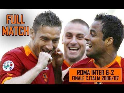 Roma Inter 6-2 | Finale Coppa Italia | Full Match Stagione 2006/07