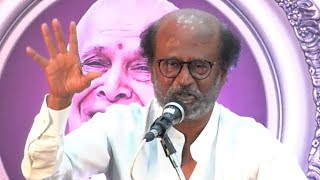 Rajinikanth Speech at Felicitation Function Of Legendary Writer Kalaignanam