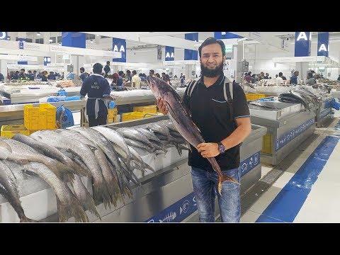 Fish Market Dubai | Waterfront Market In Dubai | سوق السمك دبي