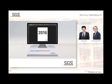 SGS 2016 Full Year Results Presentation