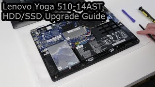 Lenovo Yoga 510-14AST HDD/SSD Upgrade