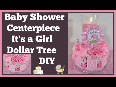 baby-shower-centerpiece-🍼-dollar-tree-diy-girls