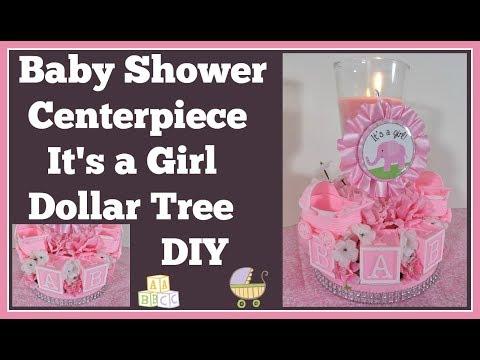 baby-shower-centerpiece-🍼-dollar-tree-diy-girls