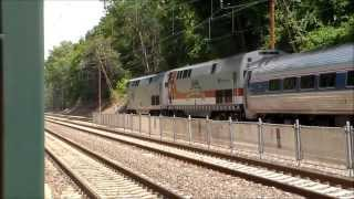 1100th Video-The Pennsylvanian train 42 and Amtrak Veterans Unit 42