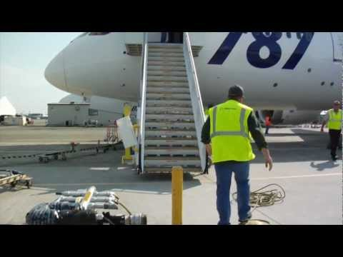 Exclusive look inside a Boeing 787 inspection