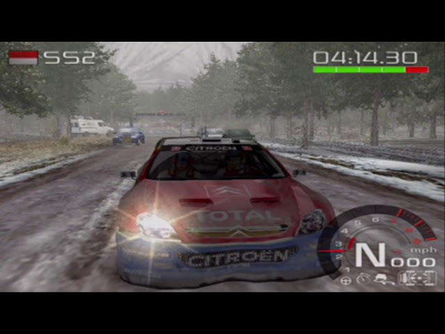Let's Play WRC: Rally Evolved (PS2) #1 Monte Carlo