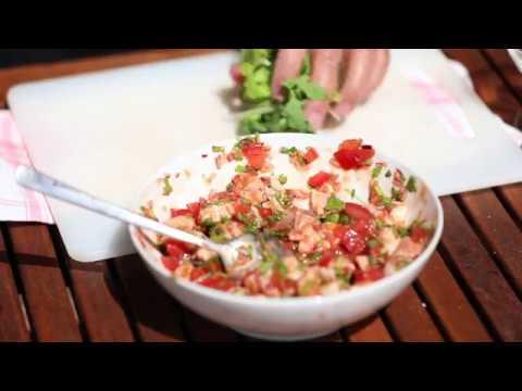 Chiffelle immobilier vous propose une recette estivale: un Ceviche mexicain.