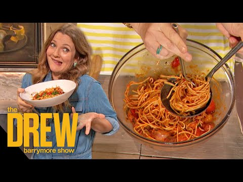 Drew Shares How To Make Her Favorite Chickpea Pasta Dish