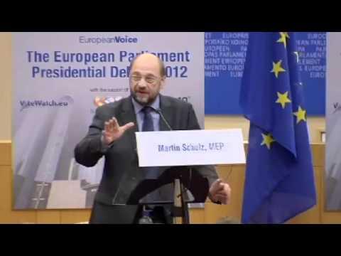 European Parliament presidential debate (full)