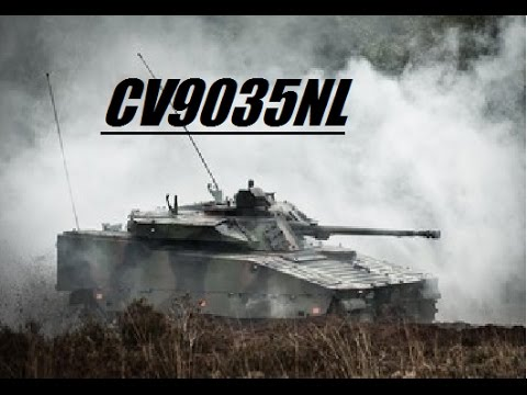 MechRecon - CV9035NL - Dutch army version of CV90 IFV