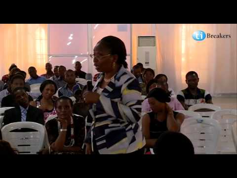 Ibukun Awosika at Tibreakers' Career Conference 2014