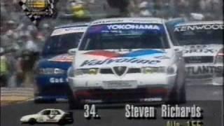 1995 Australian 2.0L Super Touring Support Race 2 - AGP, Adelaide Street Circuit Part 2