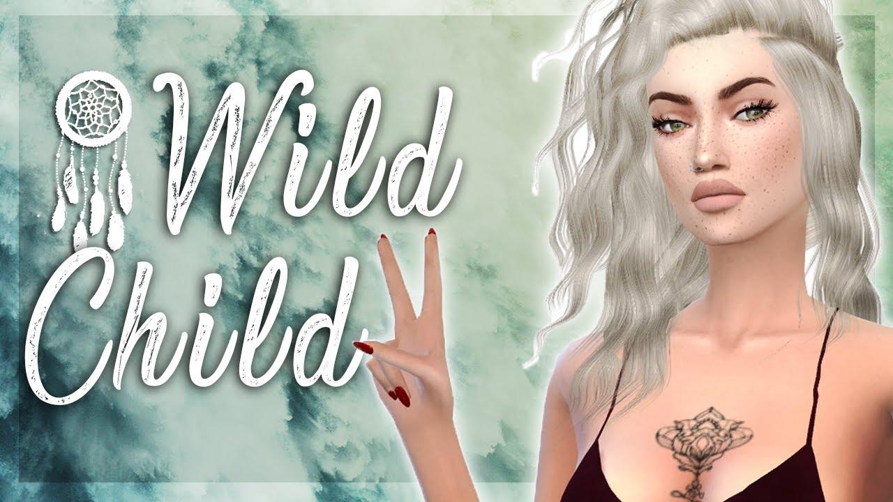 The Sims 4: CAS // Wild Child + Full CC List
