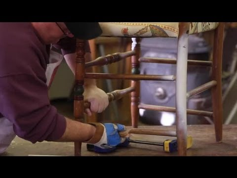 How To Repair Wood Chair Legs Furniture Repair Tips YouTube