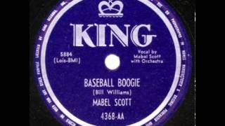 "Mabel Scott ""Baseball Boogie"""