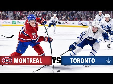 Montreal Canadiens vs Toronto Maple Leafs | Season Game 5 | Highlights (14/10/17)