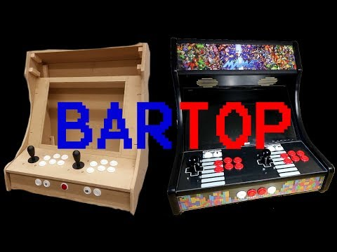 Building A 2 Player Bartop Arcade - Part 3 - The Process (Build)