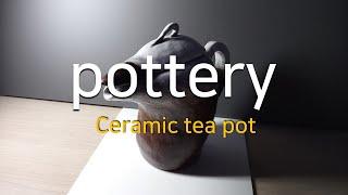 How to make a ceramic tea pot …