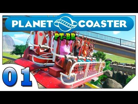 Planet Coaster #01 (VAMOS JOGAR) Desafio Tropical [Gameplay Português PT-BR]