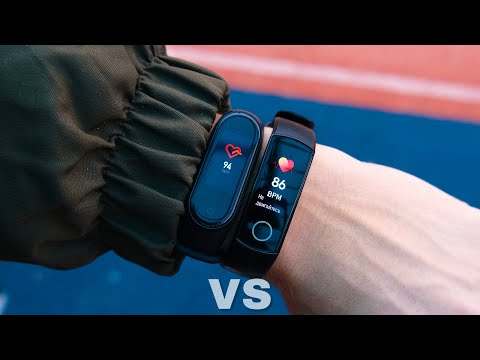 Honor Band 5 vs Mi Band 4 - which is better to buy?