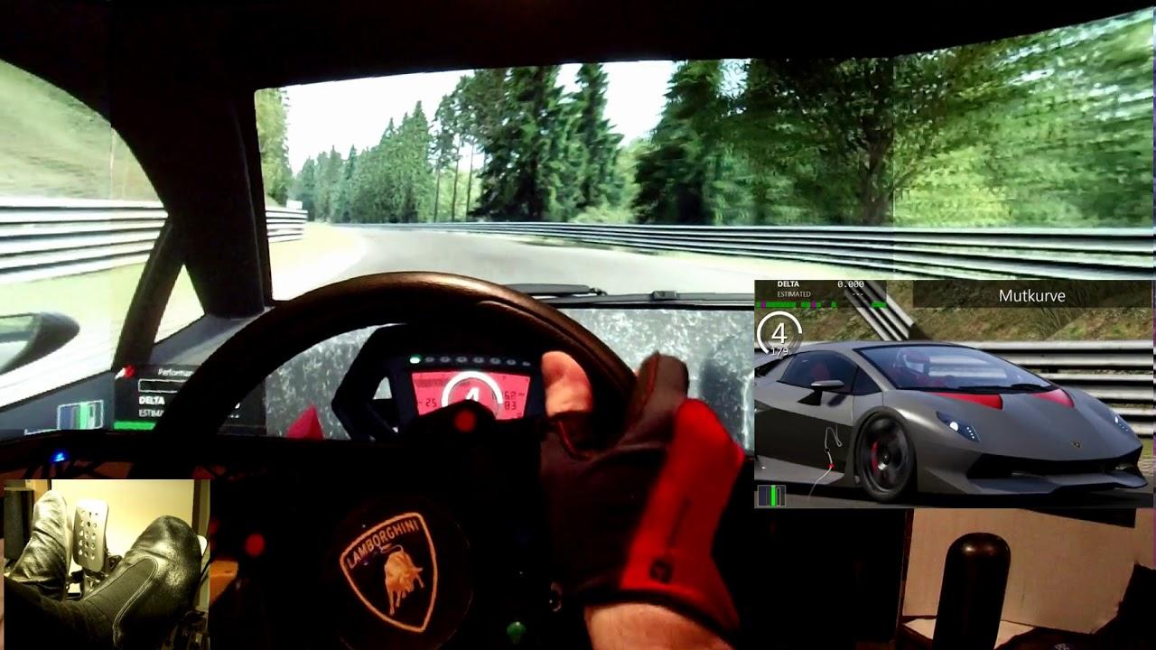 Ac Nordschleife Lamborghini Sesto Elemento Online Track Day