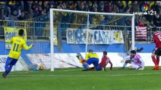 Resumen de Cádiz CF vs CD Mirandés (2-1)