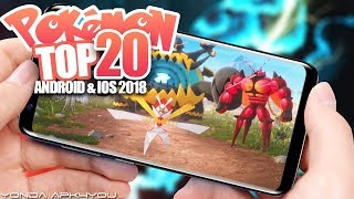 Top 20 New Pokemon Games 2018 - Android IOS Gameplay