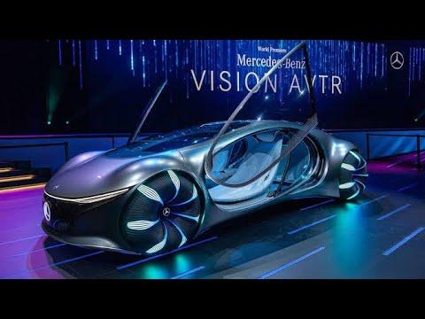 Mercedes-Benz AVTR : Avatar Car first Look 🔥🔥🔥 - YouTube