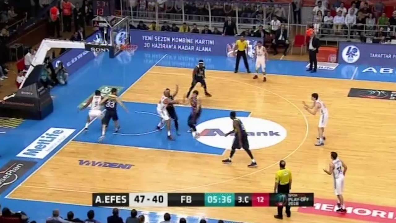 Anadolu Efes - Fenerbahçe Ülker Final Serisi 1. Maç Üclükler