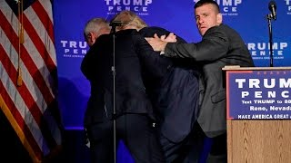 """Bogus """"Assassination Attempt"""" Hyped by Trump Campaign, Was a Guy with a Sign"""
