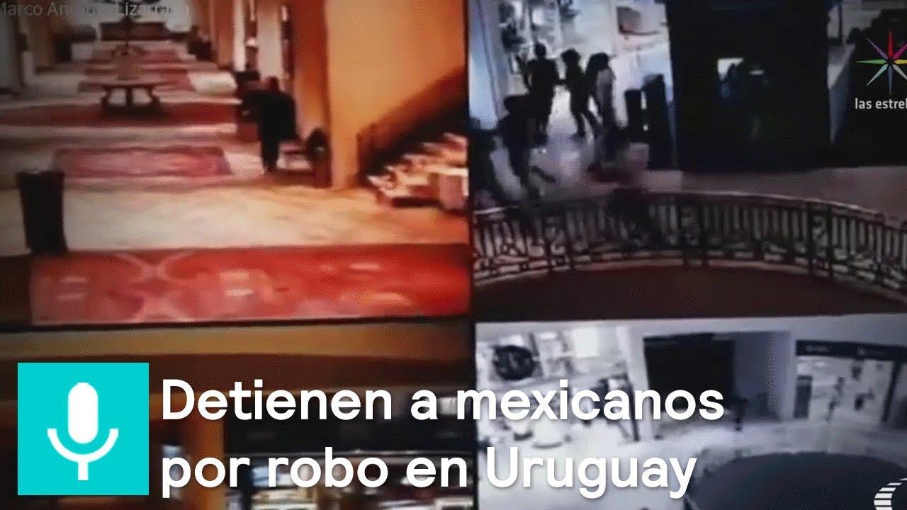 9ecddd367c18 Suman 12 los mexicanos detenidos por asalto en joyería en Uruguay -  Despierta con Loret. Noticieros Televisa