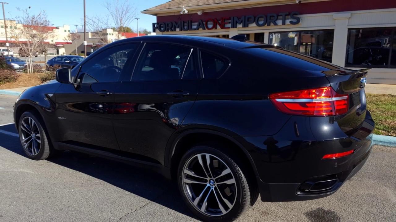 2014 Bmw X6 Black For Sale Formula One Imports