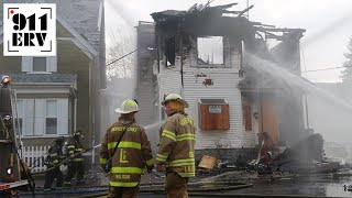 Building From September Lawrence Gas Explosions Burns Again