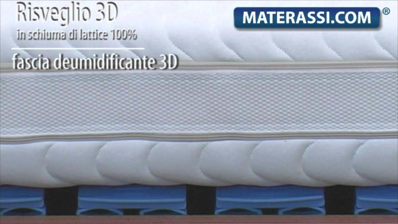 Materasso In Lattice Mal Di Schiena.Mal Di Schiena Materasso In Lattice Naturale 100 Mod Risveglio 3d