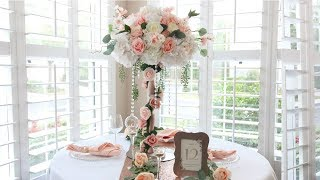 Wedding Centerpiece DIY - Rose Garden