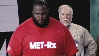 Mark Henry Wins 2002 Arnold Strongman Classic