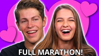 Ultimate Ben Azelart &amp Lexi Rivera DATING Compilation  Make My Date Marathon