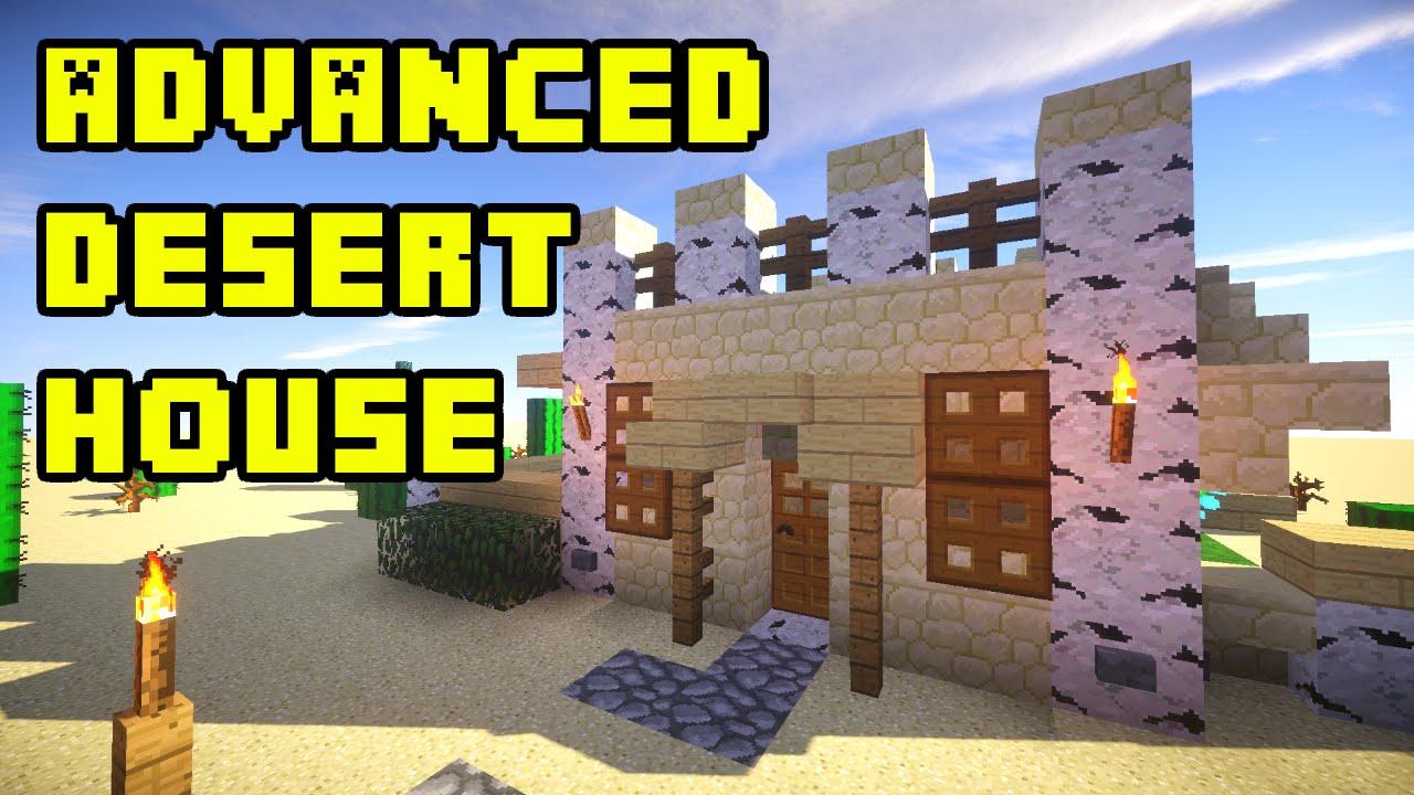 Minecraft Desert House Tutorial Xbox Pe Pc Ps3 Ps4 Minecraft Videos Gameplay Crafting Tutorials Videos