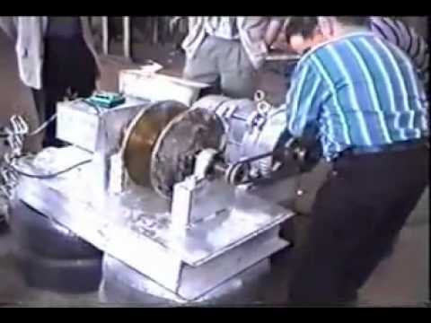 Tariel Kapanadze overunity motor 02 free energy - YouTube