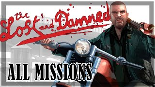GTA 4: The Lost and Damned - All Missions | Full game