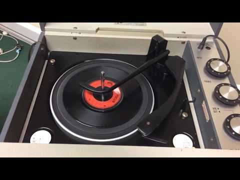Bush SRP 41 Stereo Record Player with its matching AU41 Separate Speaker