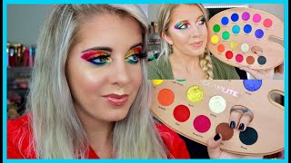 RECREATING MY WORST MAKEUP LOOK!!! || FEATURING GLAMLITE PAINT PALETTE||