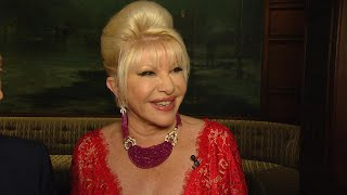 President Trump's Ex-Wife Ivana Wishes Melania 'All the Best'